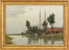 Charles A. Platt (American, 1861-1933) Sailboats