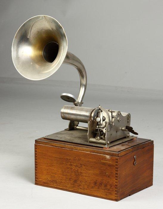 5: Rare French 'Omega' Phonograph