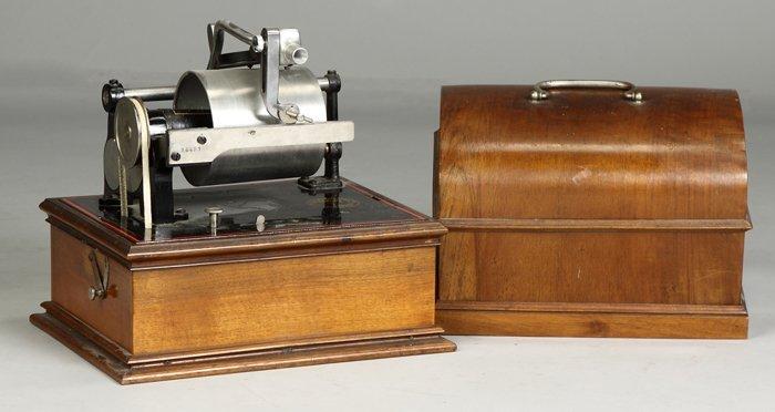 8: Pathe Duplex Phonograph