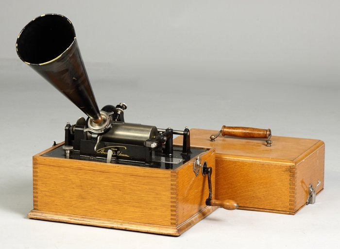 10: Early and Rare Edison Standard Phonograph