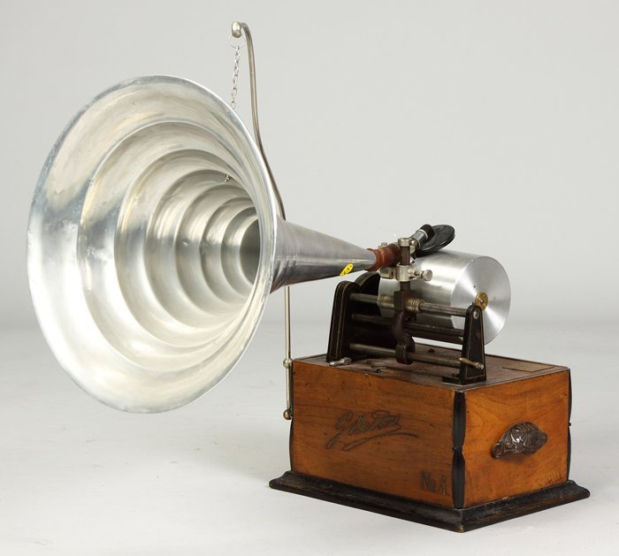 24: Rare Bettini #4 Phonograph