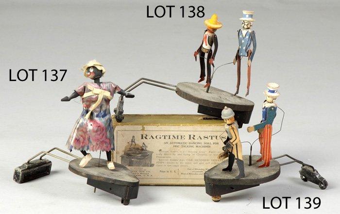 "139: ""Uncle Sam Kicks the Kaiser"" Turntable Toy"