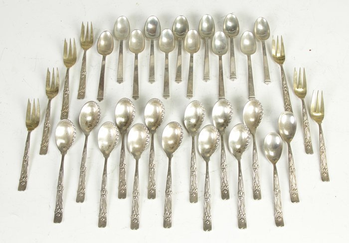 9: Tiffany & Co. Spoons & Forks