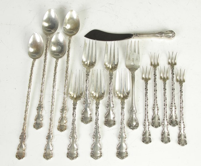 10: Whiting Misc. Sterling Flatware