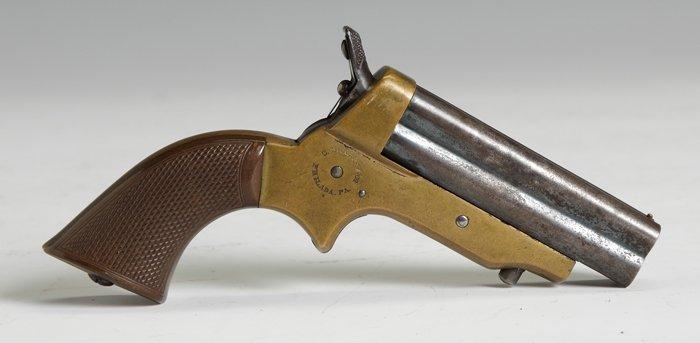 281: C. Sharps & Co., Philadelphia, PA, 4 Barrel Pistol