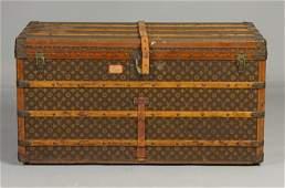64 Vintage Louis Vuitton Steamer Trunk