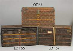 65 Vintage Louis Vuitton Steamer Trunk