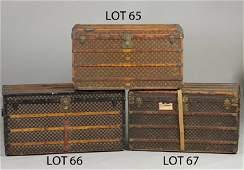 66 Vintage Louis Vuitton Steamer Trunk