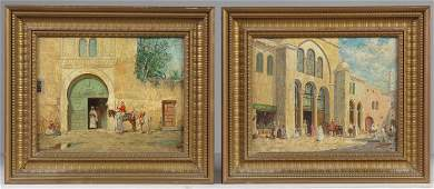 193 A Pair of Paintings by Addison Thomas Millar Amer