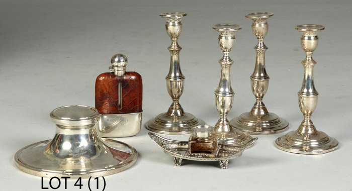 4: Sterling Inkwell