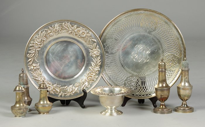 10: Group of Sterling Items