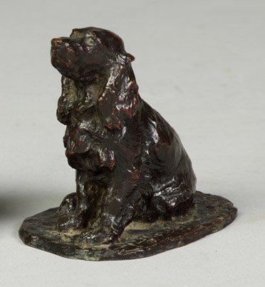 16: Sgn. Rene Paris Bronze Cocker Spaniel