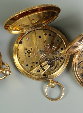 21: Fred. Courvoisier Gold Pocket Watch - 2