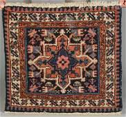 152: Hamadan Mat & Shiraz Rug
