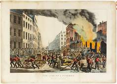 236 Currier  Ives The Life of a Fireman
