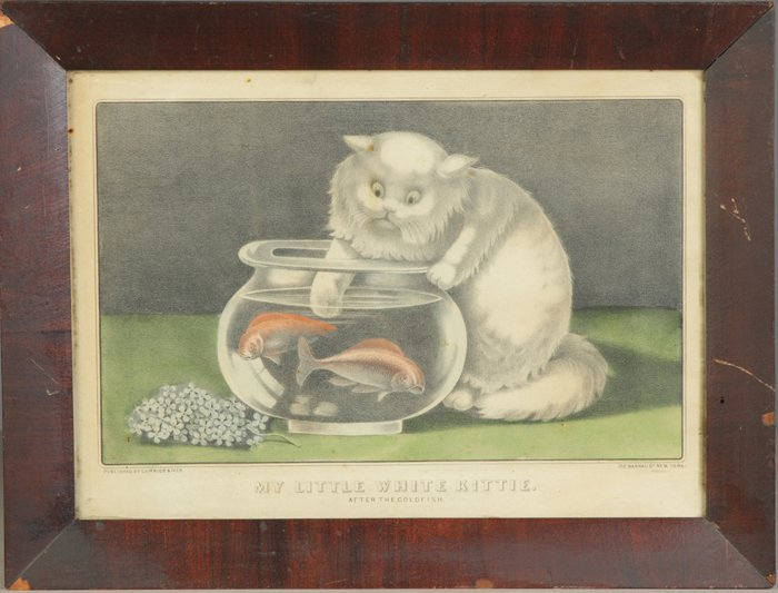 240: 2 Currier & Ives Prints