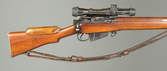 362: British Enfield 303 Sniper Rifle