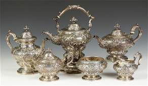 Gorham Sterling Silver 6Pc Tea  Coffee Set