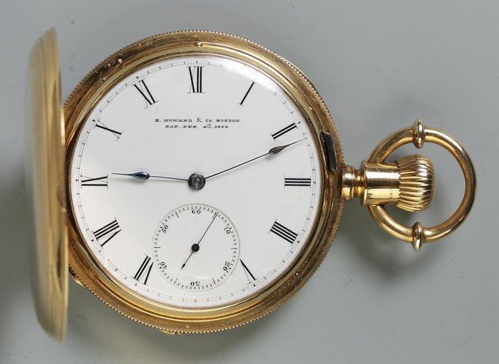 E. Howard & Co., Boston, 18K Gold Pocket Watch