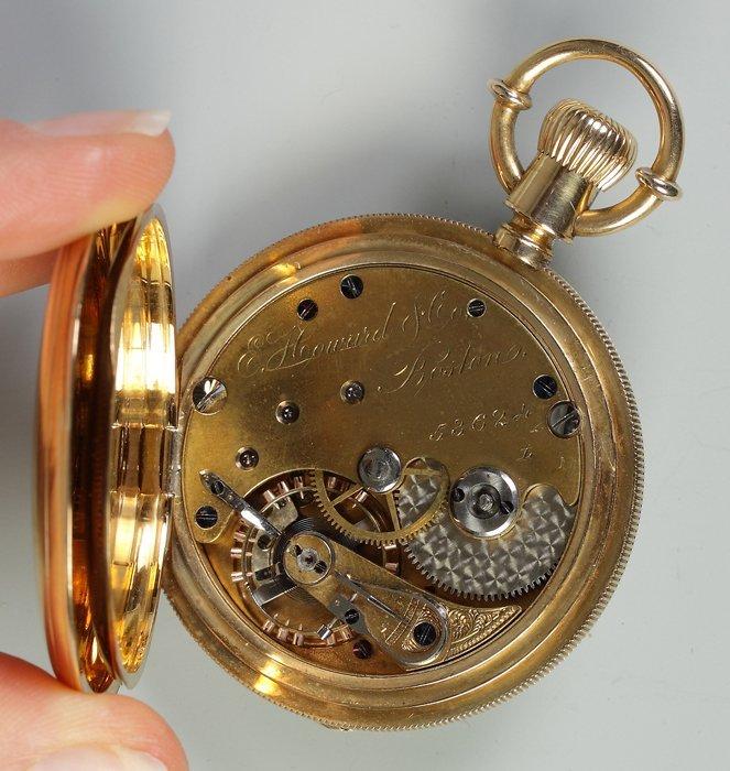 E. Howard & Co., Boston, 18K Gold Pocket Watch - 2