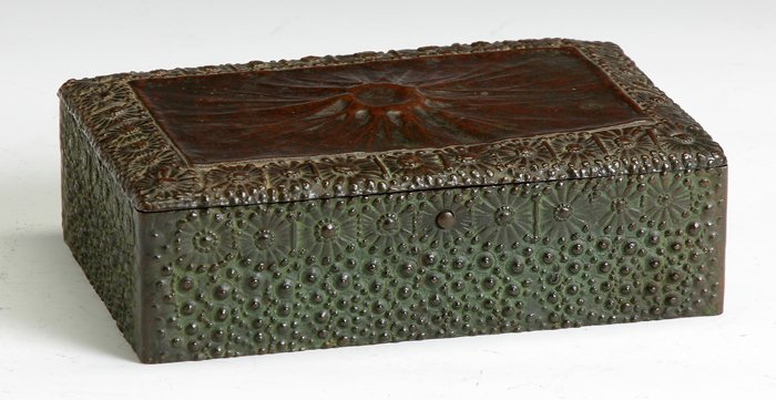 "Fine &  Rare Tiffany Studios Gilt Bronze ""Volcano"" Humi"