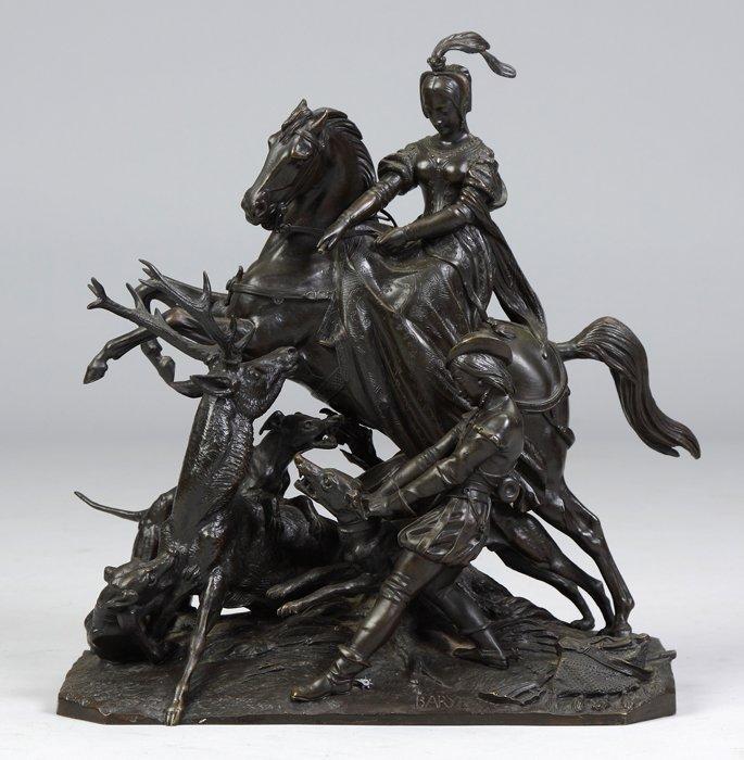 Antoine-Louis Barye (French, 1795-1875) Bronze