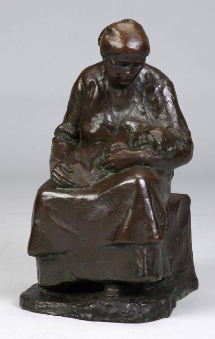 Antoinette B. Hollister (American, born 1873) Bronze of
