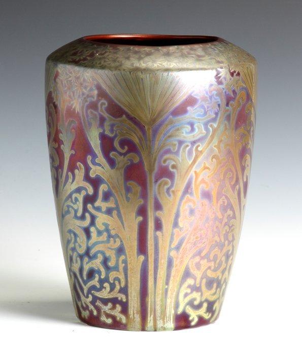 Fine & Rare Weller Sicard Art Nouveau Vase