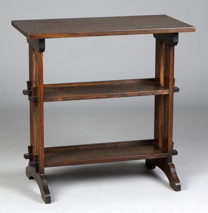 oak little journey book stand