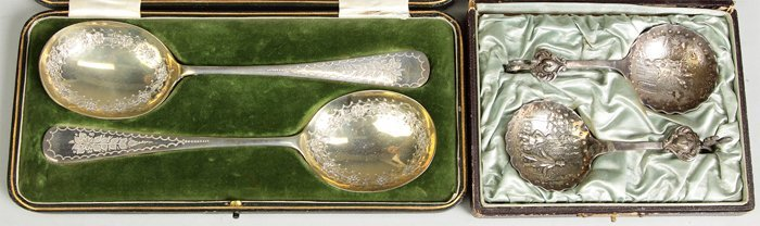 Two Sets of Serving Spoons
