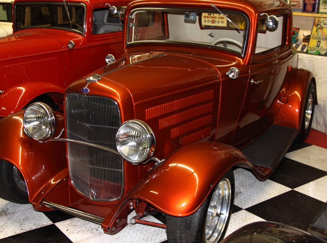 Ford 32' Copper 3 Window Coupe