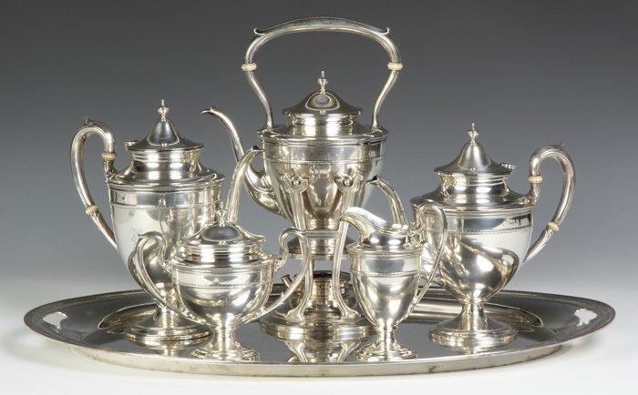 Gorham Sterling Silver 6-Piece Tea Set - Edgewater