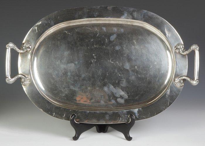 Sanborns Sterling Silver Serving Tray