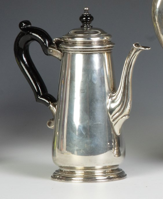 Tiffany & Co. Makers Sterling Silver Chocolate Pot
