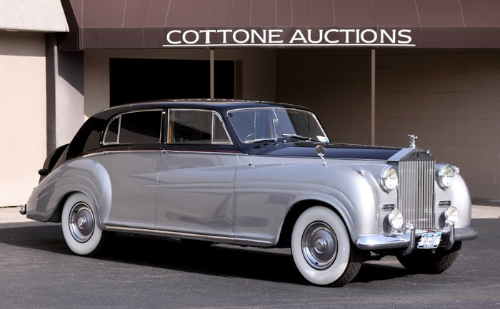 1954 Rolls Royce Silver Wraith James Young Sports
