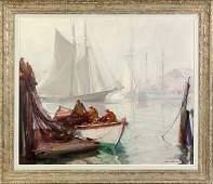 Emile Albert Gruppe American 18961978 Mackerel