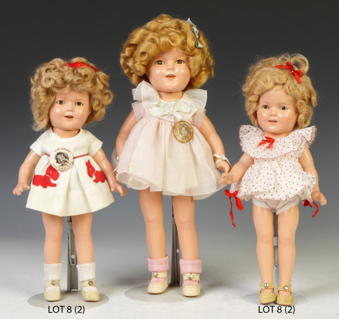 Two Vintage Shirley Temple Dolls