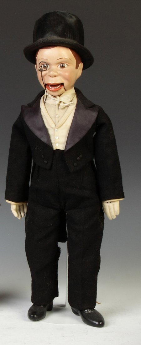 Vintage Composition Charlie McCarthy Doll