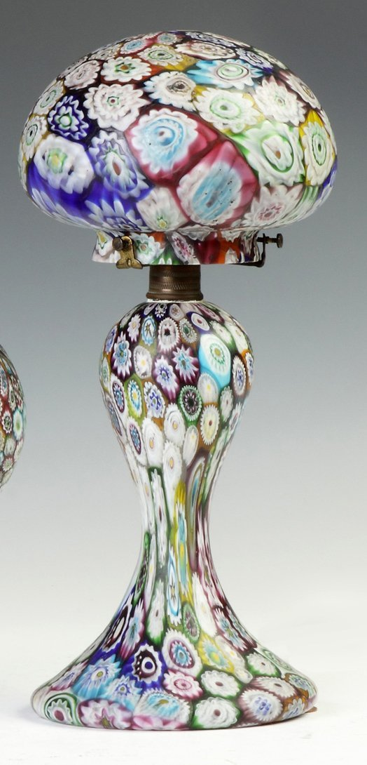 Millefiori Art Deco Lamp