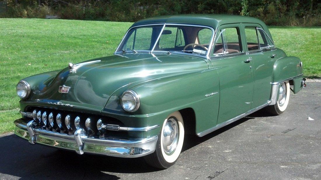 1951 Desoto Custom 4 Door Sedan