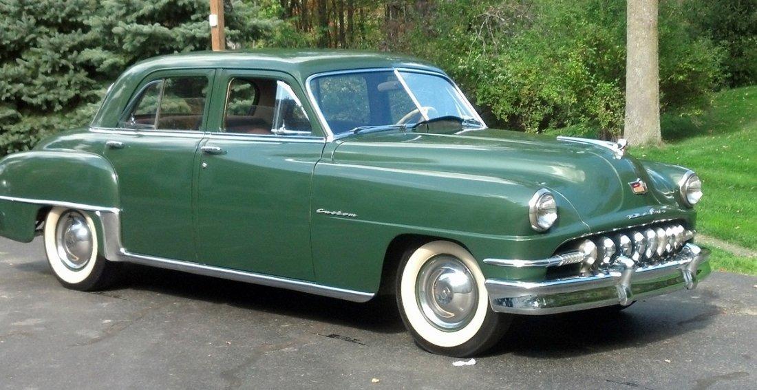 1951 Desoto Custom 4 Door Sedan - 5