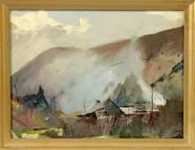 Roy Martell Mason American 18861972 Valley in VA