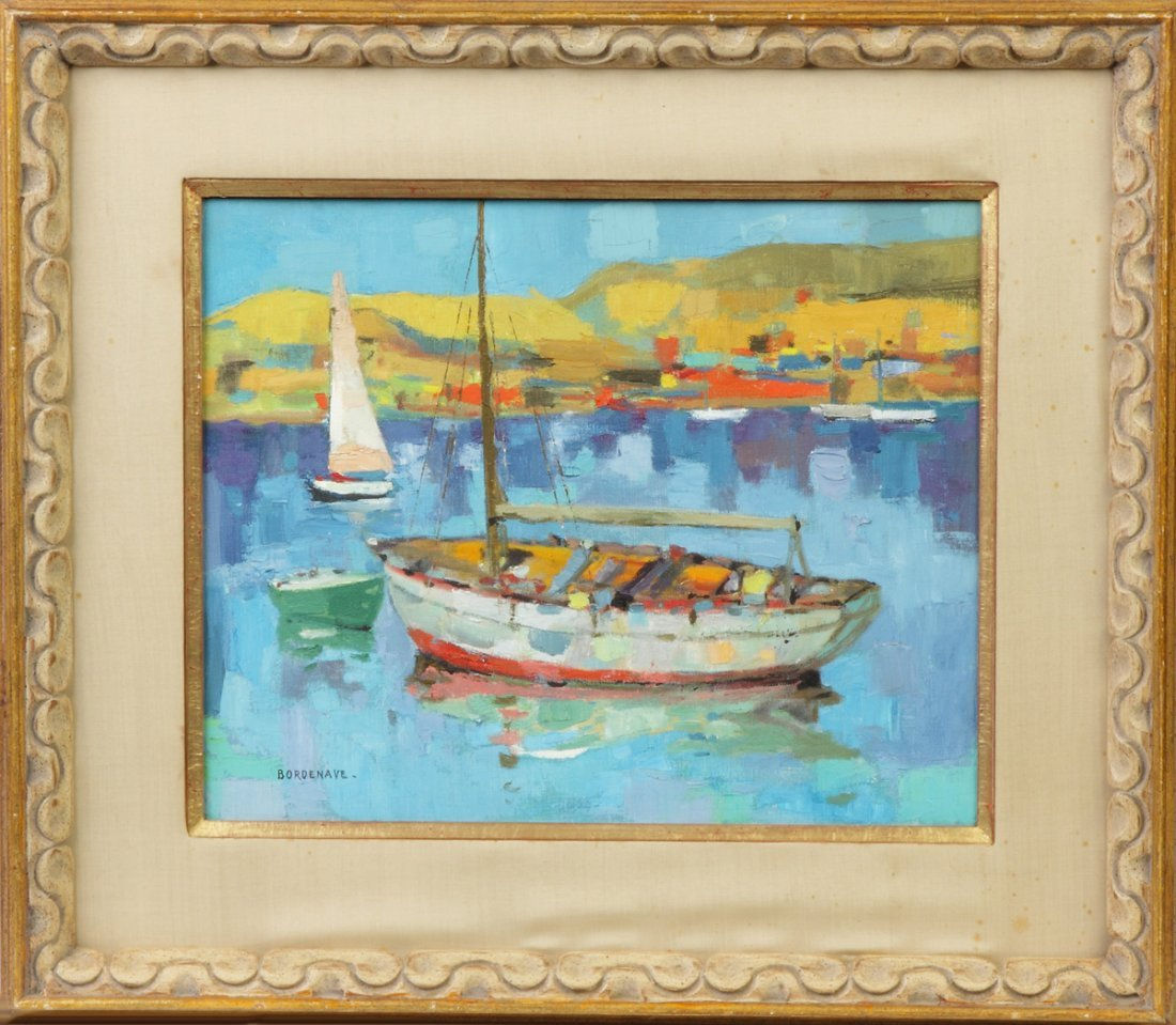 """Pierre Bordenave (French, 1900-1970) """"Le Voilier"""""""
