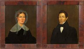 Pair of 19th cent. Portraits