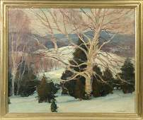 """Emile A. Gruppe (American, 1896-1978) """"The Old Birch"""""""