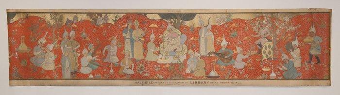 Charles Basing (Australian, 1865-1933) Mural