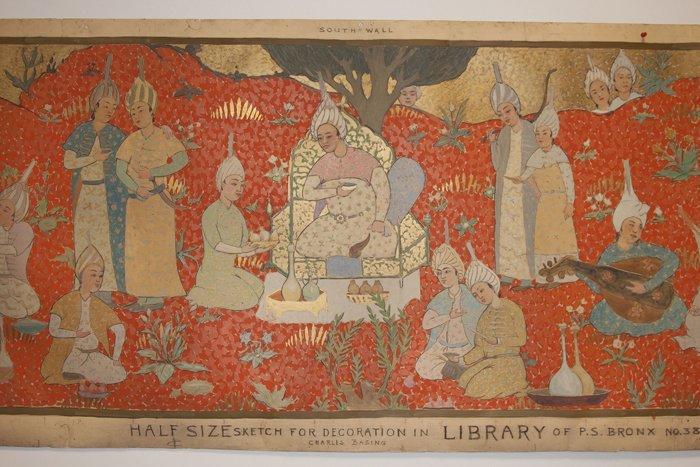 Charles Basing (Australian, 1865-1933) Mural - 2