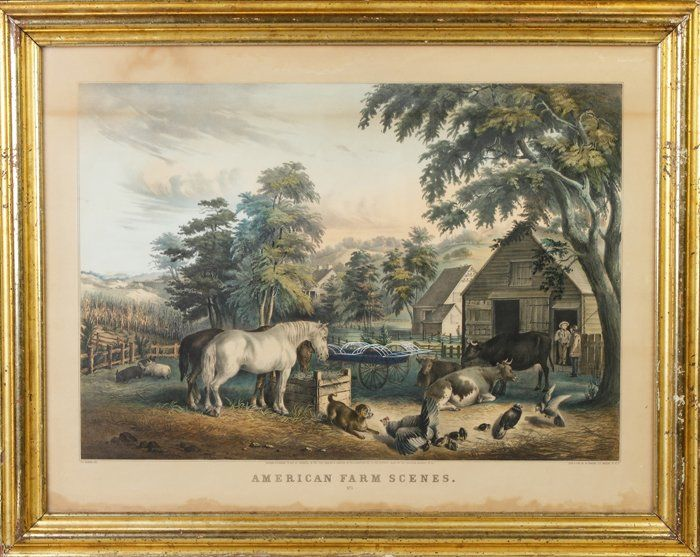 "N. Currier ""American Farm Scenes, No. 3"""