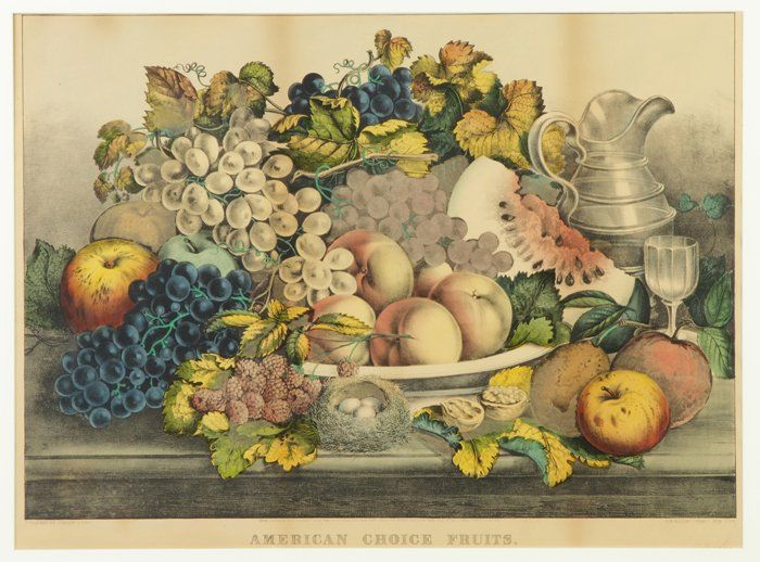 """Currier & Ives """"American Choice Fruits"""""""