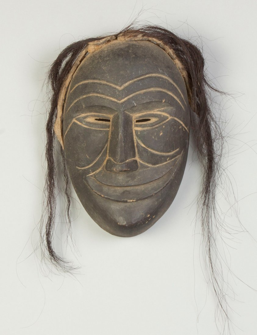 Iroquois Carved & Painted False Face Mask